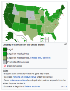 Medical Marijuana States With Legal Weed - Cannabisser