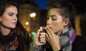cannabis smoke and skin care